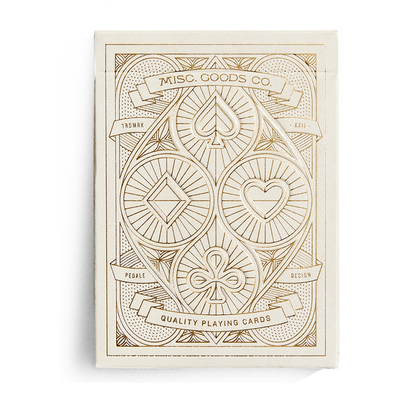 MISC. GOODS CO. Deck of Playing Cards