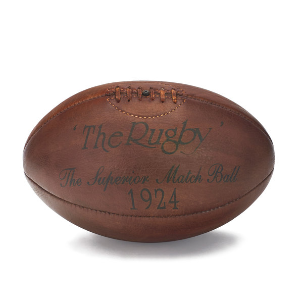 goop x Henry Gregory Antiques goop-Exclusive One-of-a-Kind Leather Rugby Ball