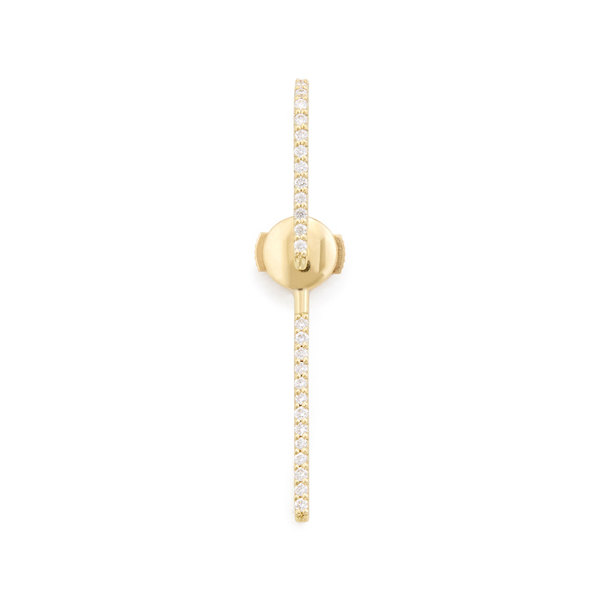 KATKIM The Petite Diamond Yellow Gold Ear Pin