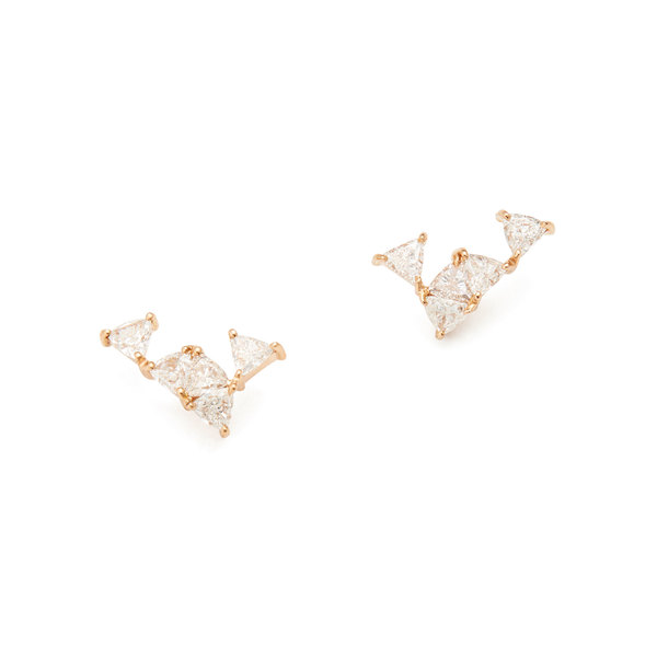 Nak Armstrong Shark Tooth Stud Earrings