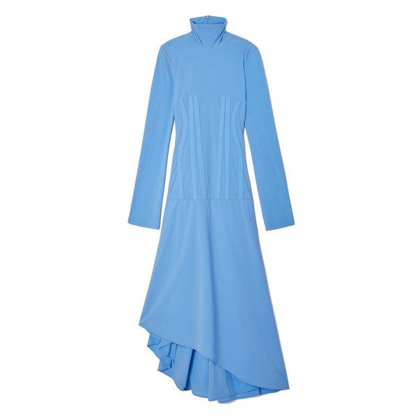Ellery Dumont Turtleneck Corset Dress