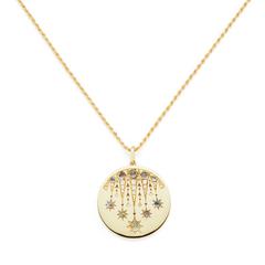 Aton Lucky Coin Necklace