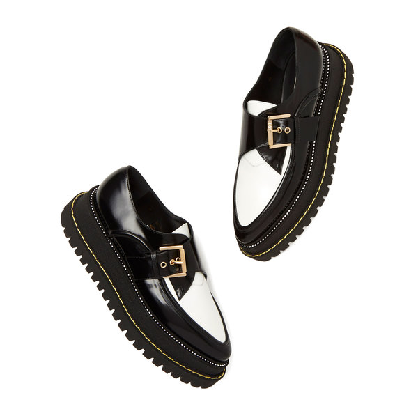 No. 21 Leather Creeper Loafers