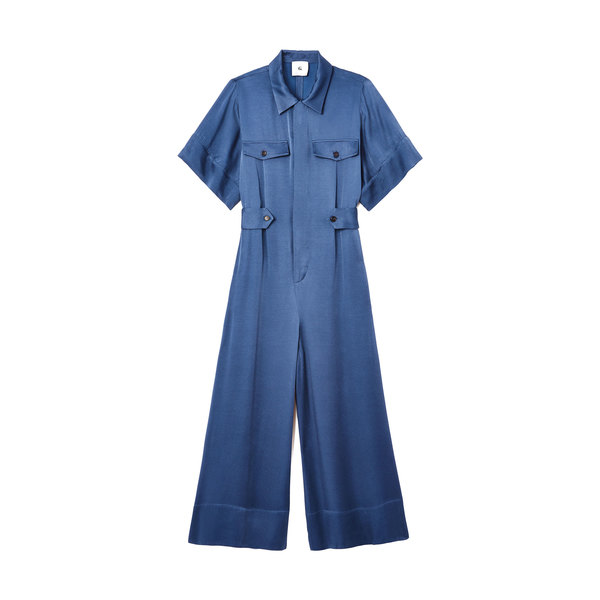 G. Label Shirley Short-Sleeve Jumpsuit