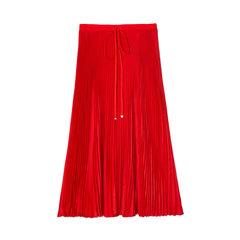 Mendini Twill Pleated Skirt