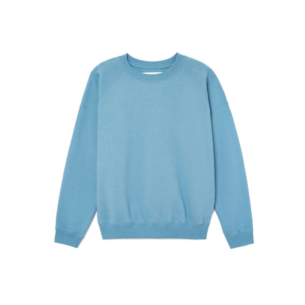 Entireworld Faded-Blue Crewneck Sweatshirt