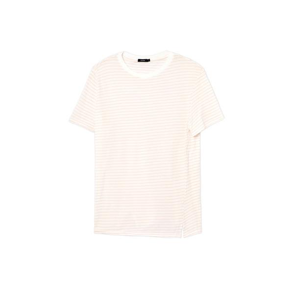 Bassike Stripe Classic Vintage T-Shirt