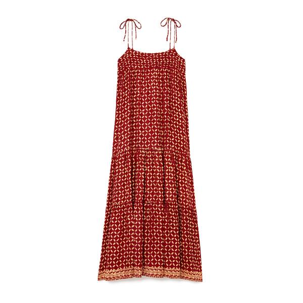 Natalie Martin Melanie Printed Tiered Dress