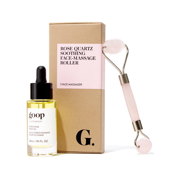 goop Beauty Rose Quartz Glow Kit
