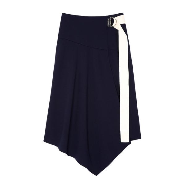 Tibi Ponte Asymmetrical Drape Skirt