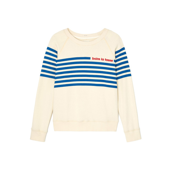 MOTHER The Square Pullover Sweatshirt