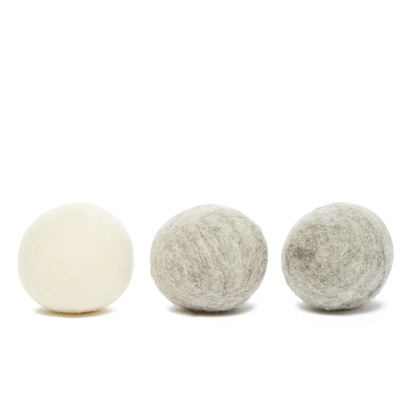THE UNSCENTED COMPANY  Wool Dryer Balls, Pack of 3