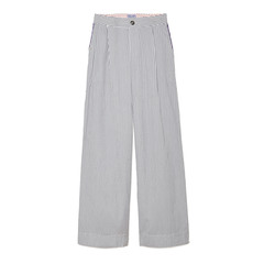 Loulou Striped Pants