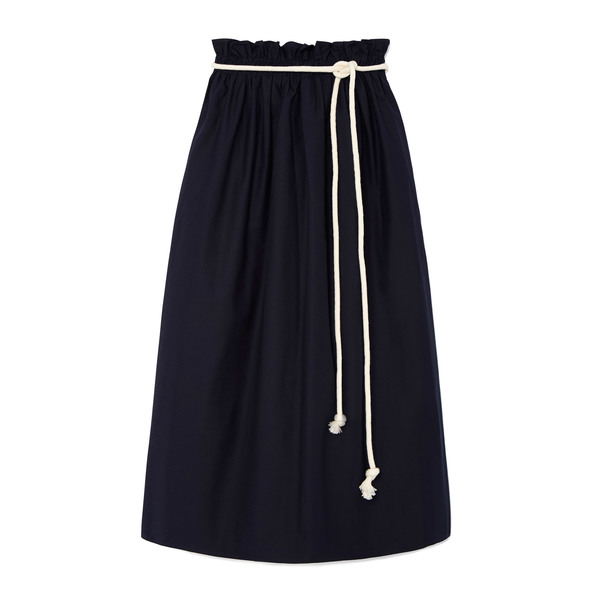 Atlantique Ascoli Jupe Grand Large Skirt with Rope Belt