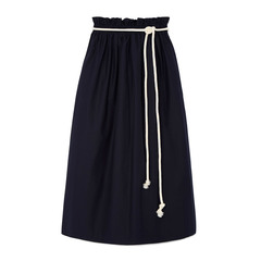Jupe Grand Large Skirt with Rope Belt