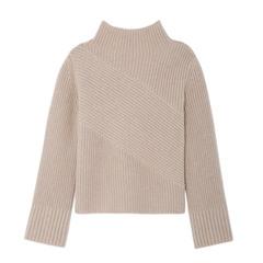 Keane Funnel-Neck Sweater