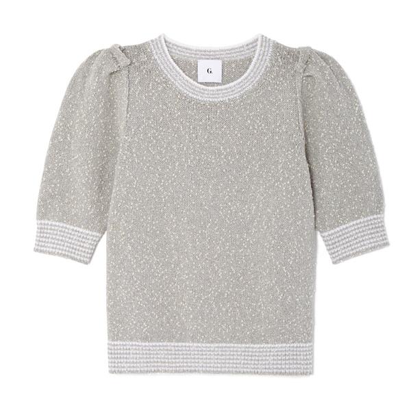 G. Label Aura Tweed Sweater