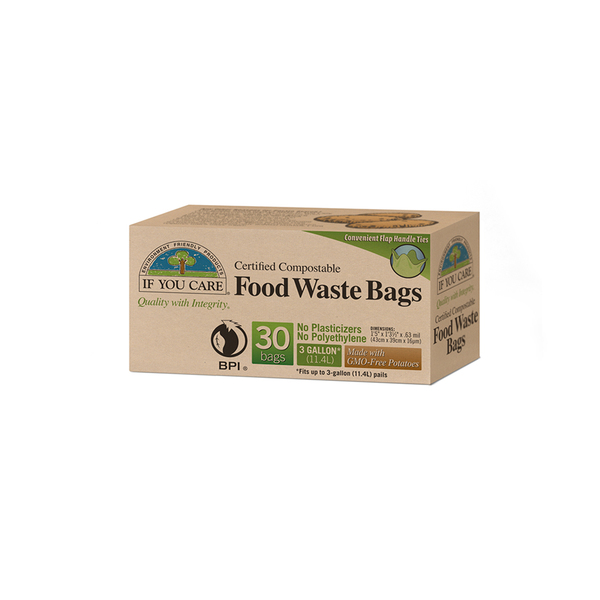 If You Care  Compostable Food Waste Bags, 3 gal