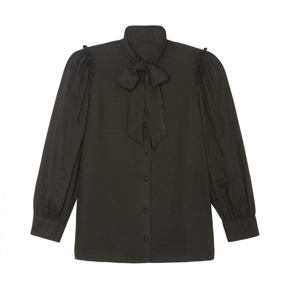 G. Label Matteo Tie-Neck Blouse