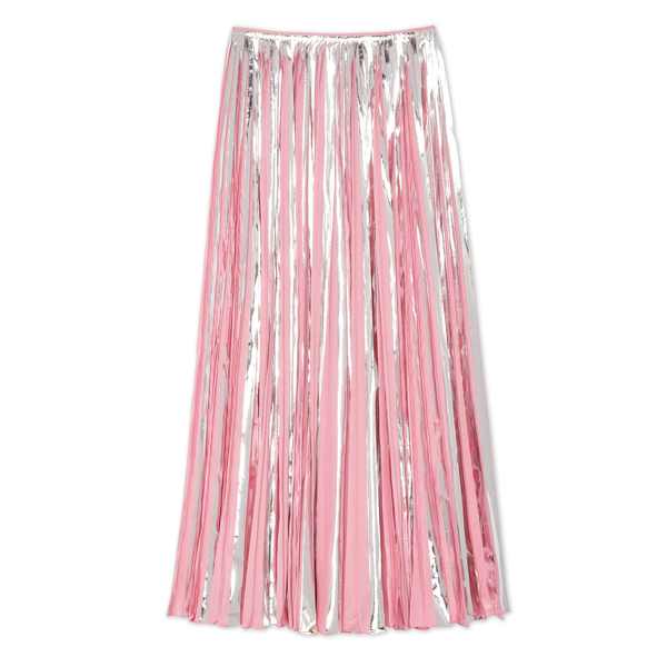 Marni Metallic Pleated Skirt