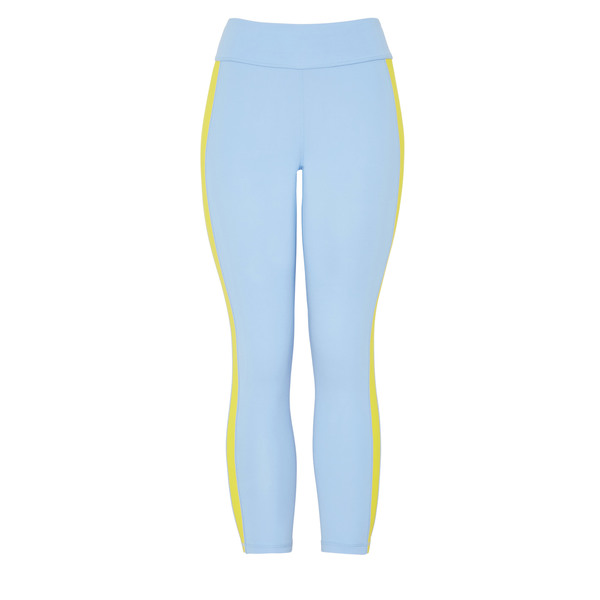 Tory Sport Color-Blocked 7/8 Leggings