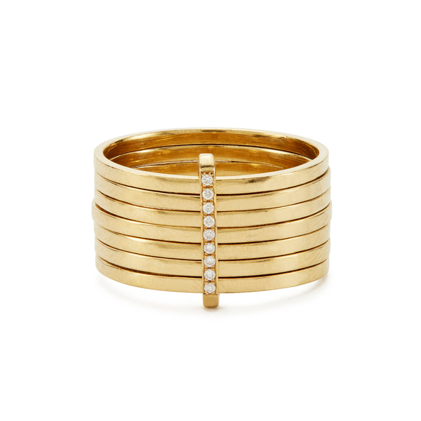 Lizzie Mandler Day Yellow-Gold Ring
