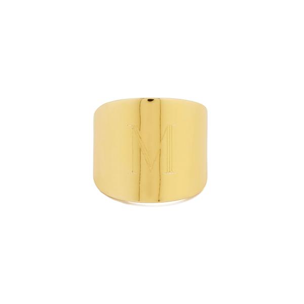 Sarah Chloe Lana Cigar Signet Ring