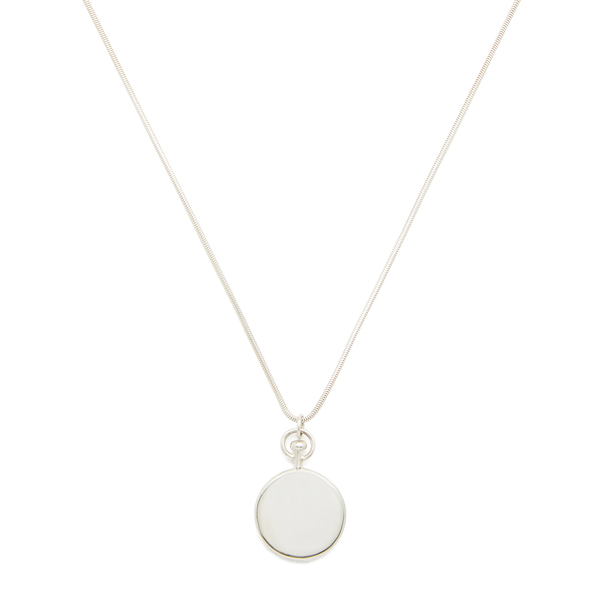 Sophie Buhai Small Circle Sterling-Silver Pendant