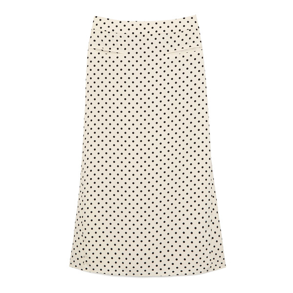 Rejina Pyo Mina Polka-Dot Crepe Skirt