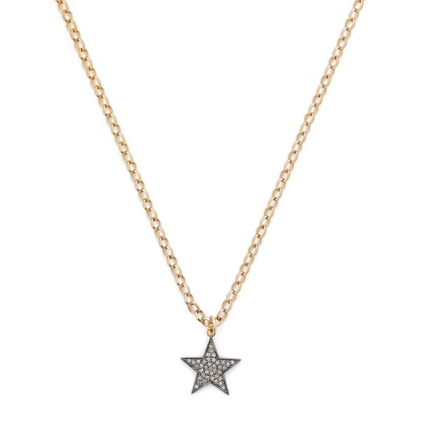 Kirstie Le Marque Pavé Diamond Large Star Pendant Necklace
