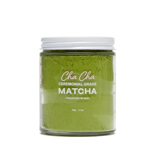 Cha Cha Matcha  Cha Cha Ceremonial Grade Matcha Powder