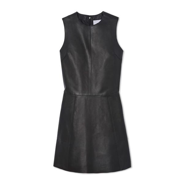 G. Label Frankie Leather Shift Dress