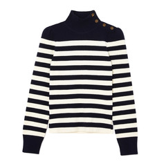 Mindy Striped Turtleneck