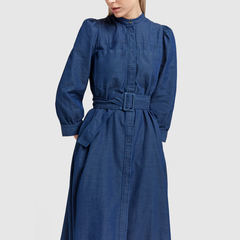 Sharis Chambray Dress