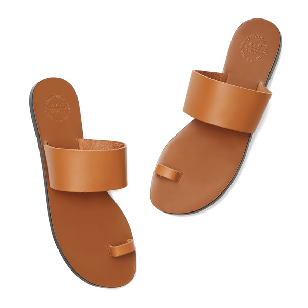 ATP Atelier Astrid Camel Leather Sandals