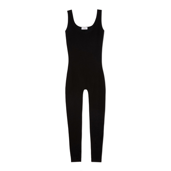 Gil Rodriguez Via Olympia Full-Length Scoop-Neck Tank Unitard