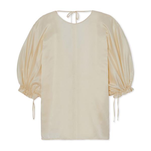 Rejina Pyo Rowan Drawstring-Sleeve Blouse