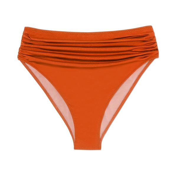 Stella McCartney Draped High-Waist Bikini Bottoms