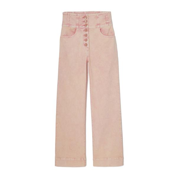 Ulla Johnson Ellis Exposed Button Trouser Jeans