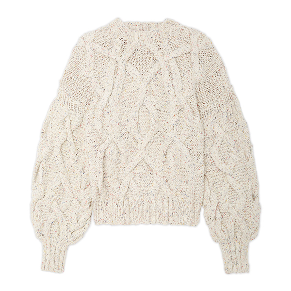 Ulla Johnson Pilar Cable Knit Pullover Sweater