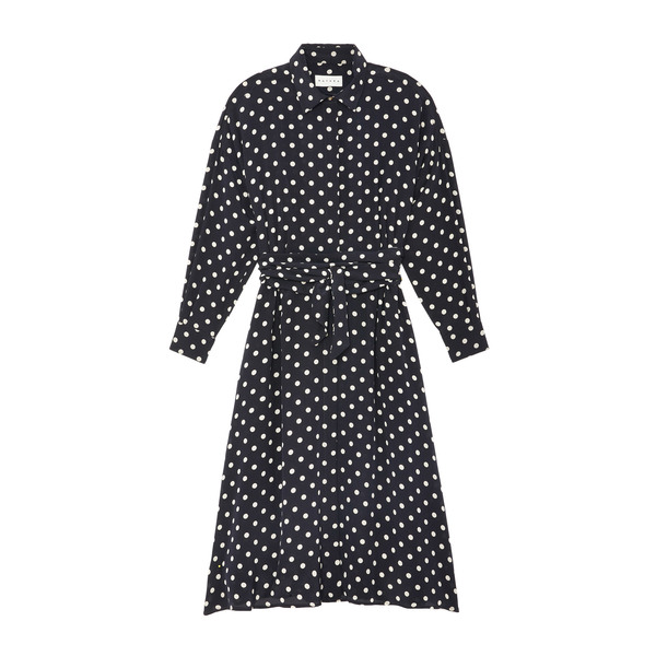 Datura Long Shirt Button-Down Dress