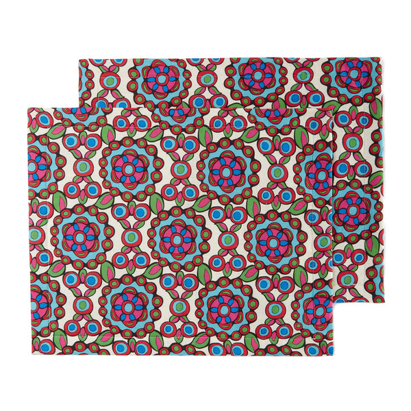 La DoubleJ Kaleidoscope Placemat, Set of 2