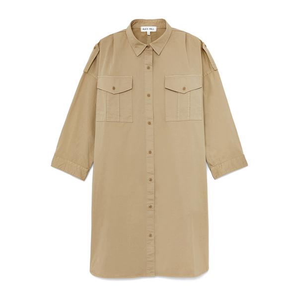 Alex Mill Military Shirt Dress