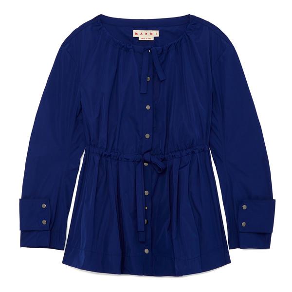 MARNI Cinched Nylon Jacket