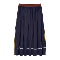 A-Line Poplin Skirt