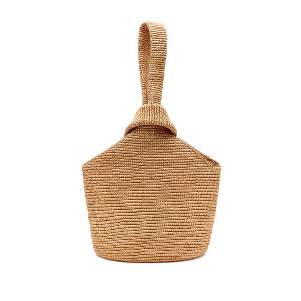 Sensi Studio Pull-Through Straw Tote Bag