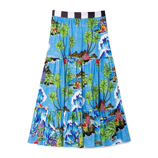 Stella Jean Gonnga Lunga Skirt