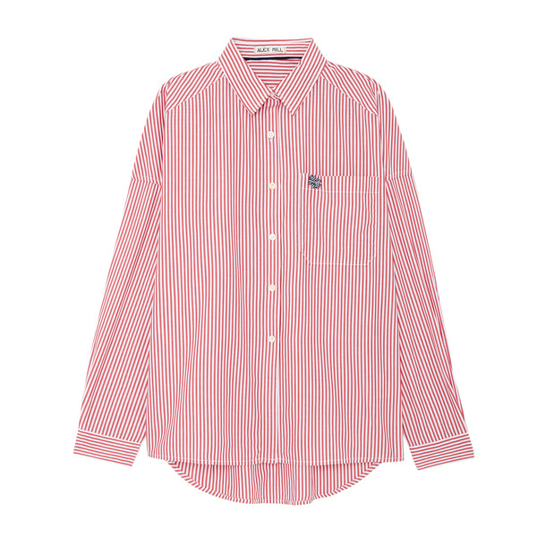 Alex Mill Oversized Stripe Shirt