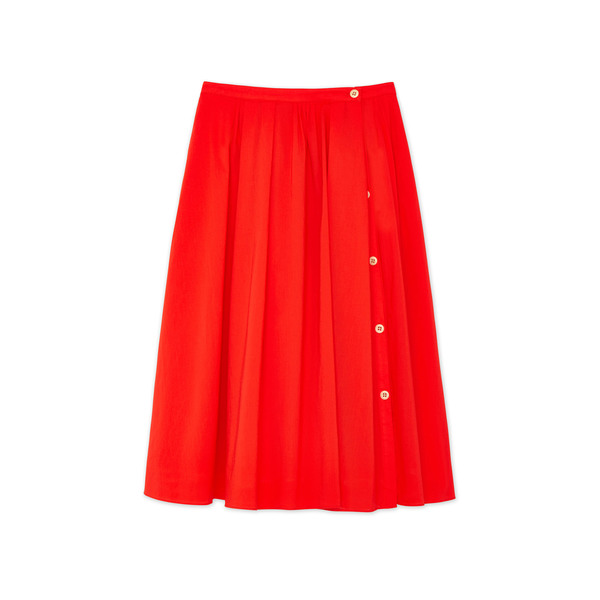 Alex Mill Cotton Midi Skirt