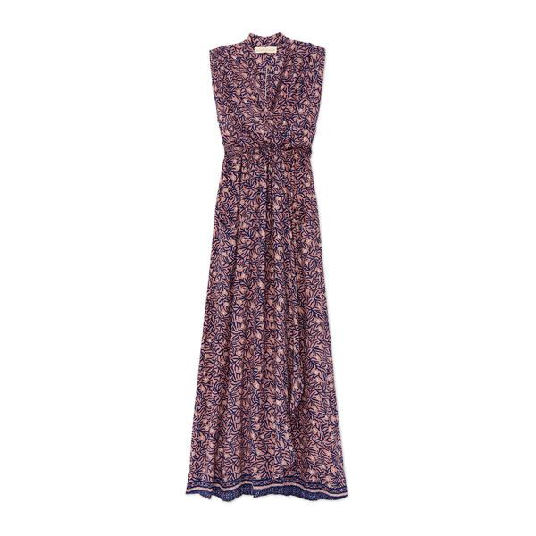 Natalie Martin Nico Sleeveless Maxi Printed Dress